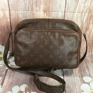 Auth Vintage Louis Vuitton Monogram Nile Bag.